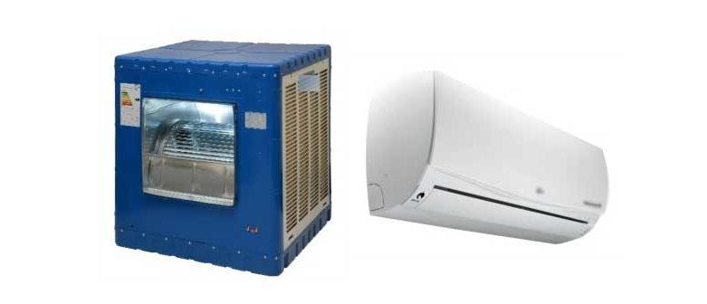 مقایسه کولر گازی و آبی